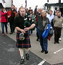 photo of festival crowd at Bowmore